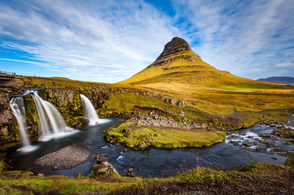 Kirkjufell - das typische Katalogfoto aus Island