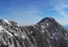 Der Gipfelgrat vom Großen Priel