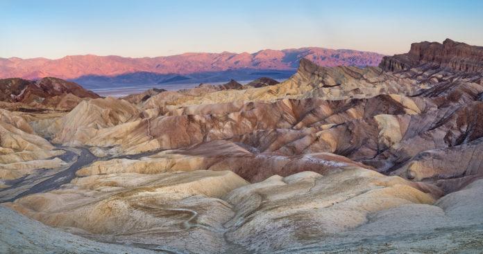 Aussicht vom Zabriskie Point im Death Valley
