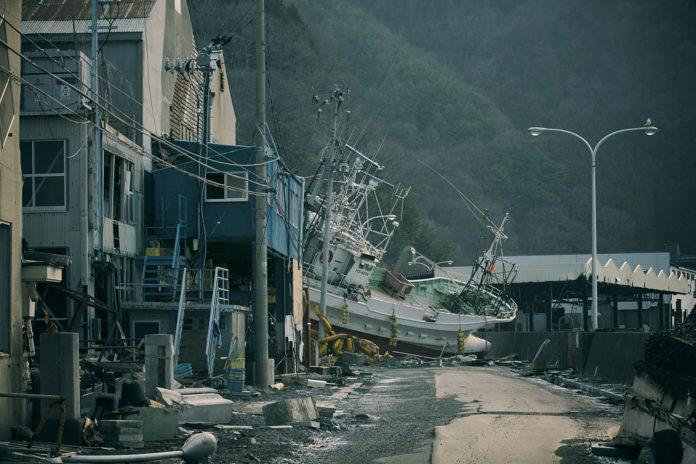 Fukushima nach dem Tsunami