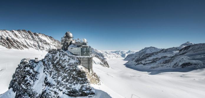 Das Jungfraujoch auch Top Of Europe genannt