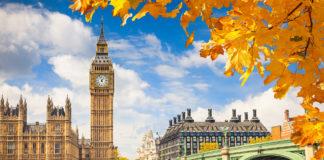 Der Big Ben in London im Herbst
