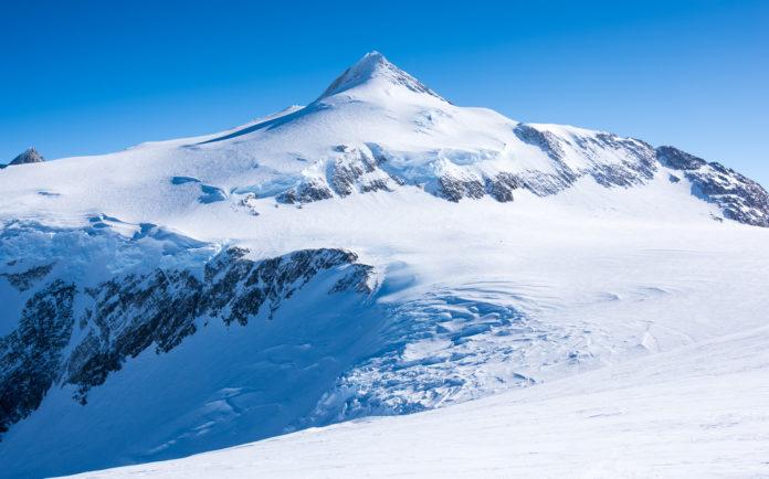 Der Mount Vinson in der Antarktis