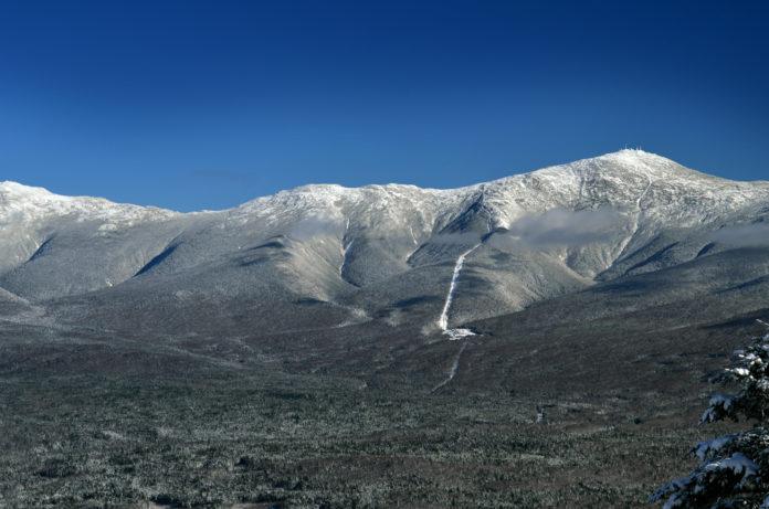 Der Mount Washington aus der Ferne
