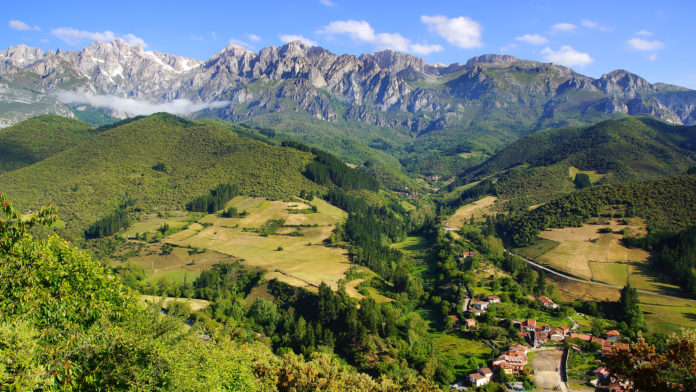 Der Nationalpark Picos de Europa in Spanien