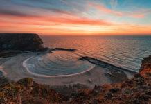 Sonnenaufgang in der Bolata Bucht