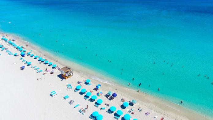 Flugaufnahme South Beach in Miami