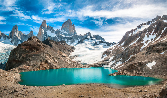 Der Fitz Roy Mountain im Torres del Paine Nationalpark