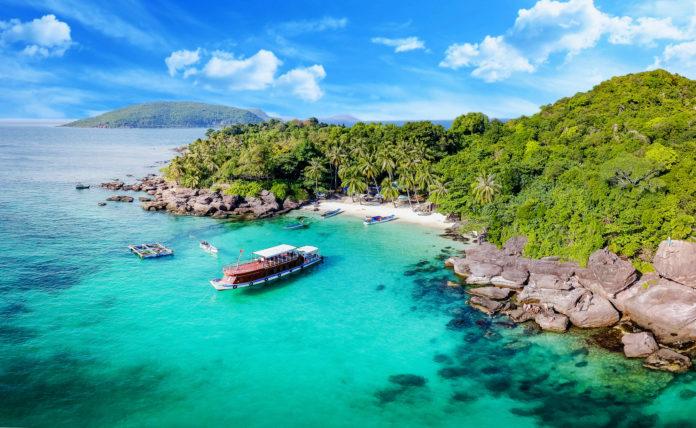 Nam Du Island von oben