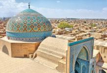 Aussicht vom Dach der Yazd Moschee
