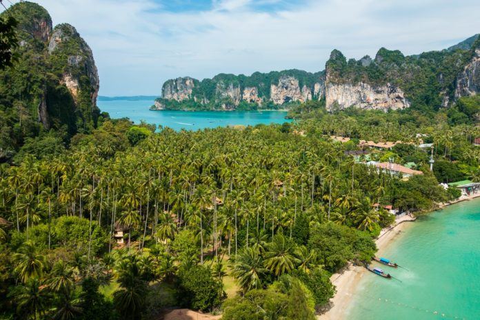 Der Railay Beach vom Railay Beach Viewpoint